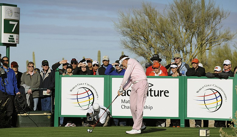 Ian Poulter during the 2009 Accenture Match Play Championship.