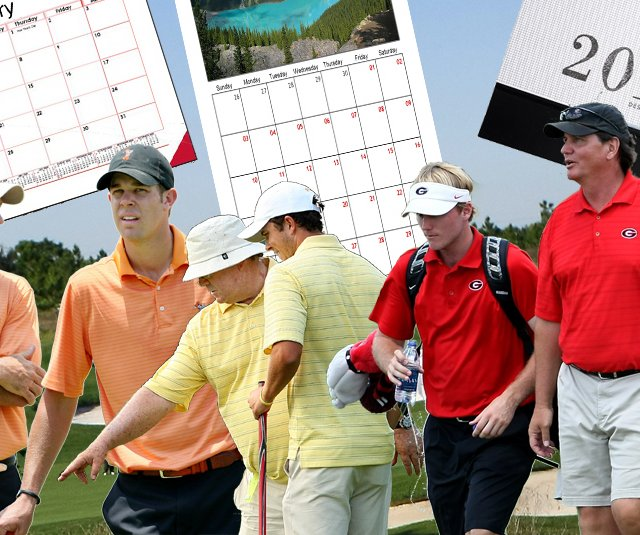 Recruiting calendars was a hot topic of discussion at this week&#39;s GCAA convention.