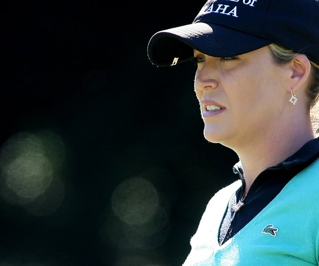 Cristie Kerr during the third round of the LPGA Tour Championship at Grand Cypress Resort in Orlando, Fla.