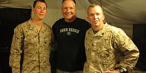 Blog: A golfer's Thanksgiving in Afghanistan