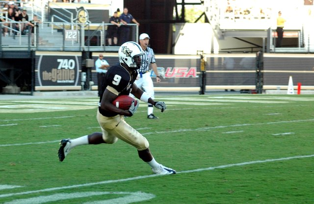 UCF's Jamar Newsome has been instrumental in long plays this season.