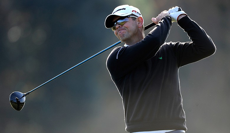 Andrew Coltart during the second stage of European Tour Q-School.