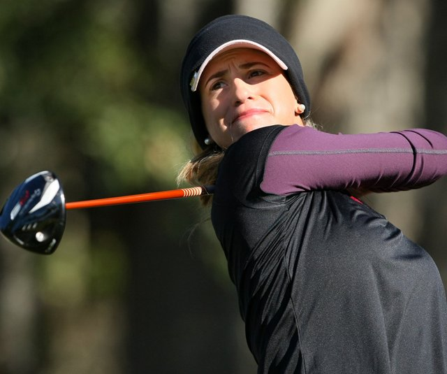 Belen Mozo during Round 1 of LPGA Q-School finals. 