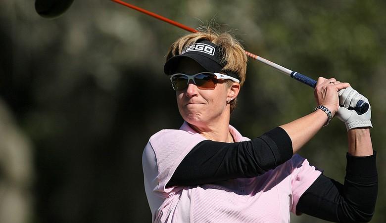 Nicole Jeray during Round 1 of LPGA Q-School finals.