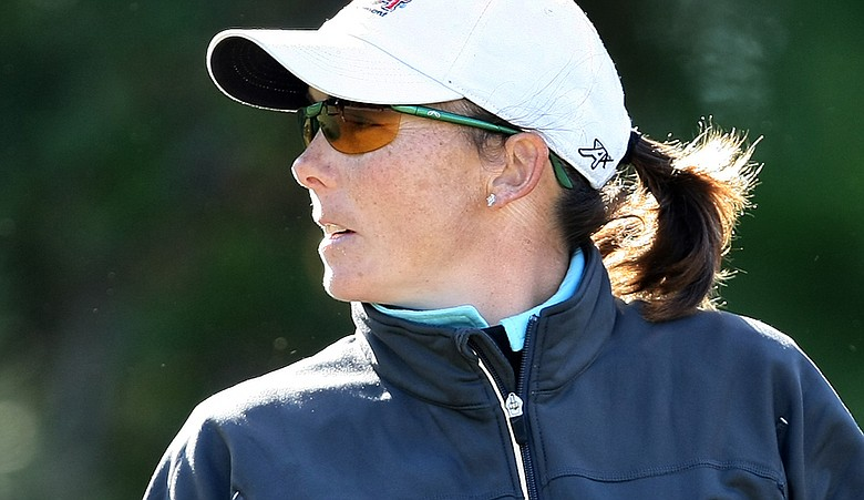 Libby Smith during the second round of LPGA Q-School.
