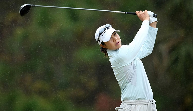 Aree Song during the final round of LPGA Q-School.