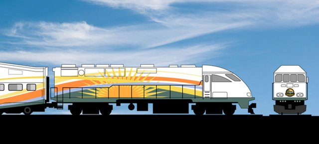The Central Florida Commuter Rail Commission on Sept. 10 unanimously chose a new paint design for SunRail trains. The design evokes images of Florida's sun with graphic renderings of Florida's green flora and fauna. Last week, an agreement was reached between Florida lawmakers and Amtrak on an insurance policy.