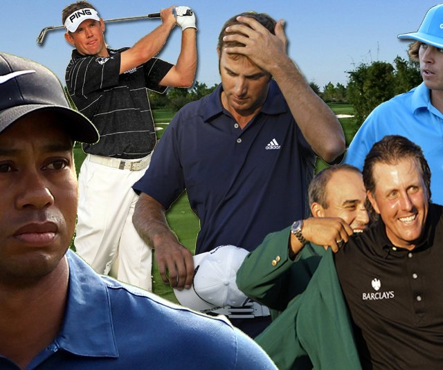 Tiger Woods, Phil Mickelson, Lee Westwood and Dustin Johnson highlight this year's Top 10 PGA Tour stories.