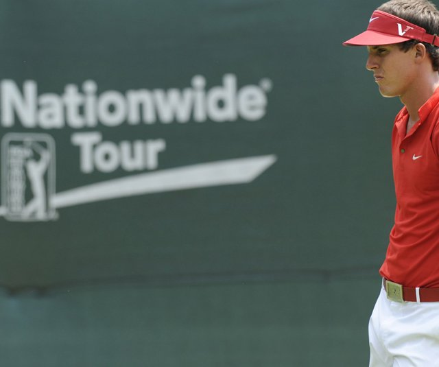 Jamie Lovemark became the youngest winner of the Nationwide Tour money list in 2010.