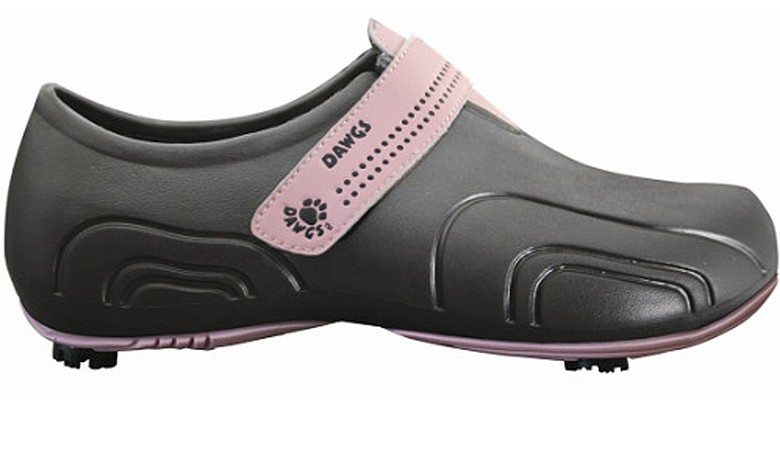 A new, lightweight golf shoe by Dawgs Golf.