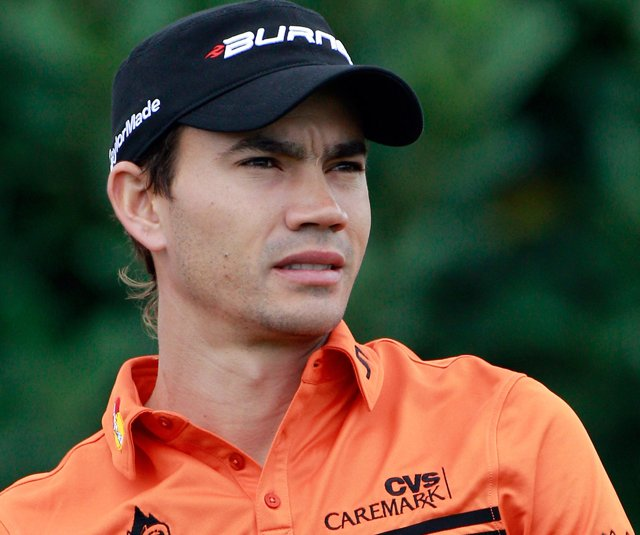 Camilo Villegas was disqualified from the Hyundai Tournament of Champions after a rules violation in the opening round. It was caught by a TV viewer who called in the infraction.