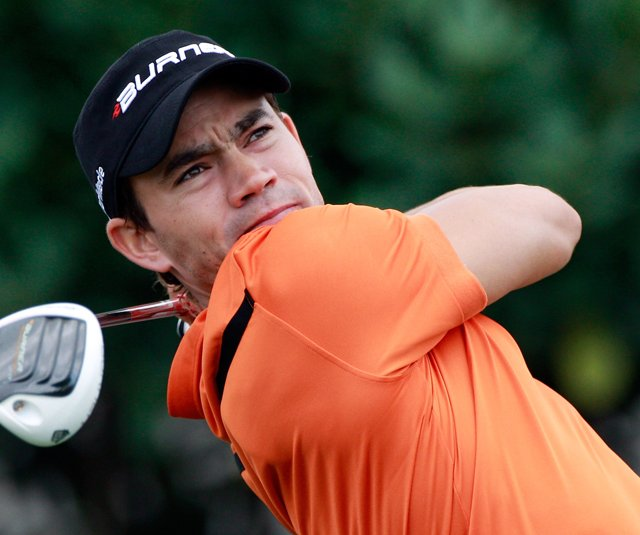 Camilo Villegas during the first round of the Hyundai Tournament of Champions.