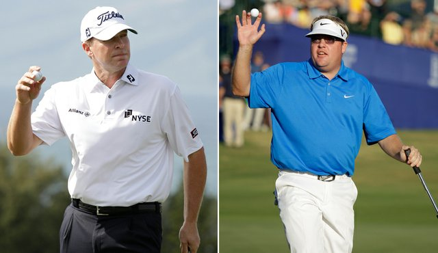 Steve Stricker and Carl Pettersson