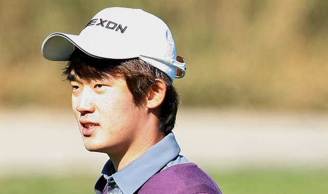 Bio Kim, 20, secured his 2011 PGA Tour card via Q-School&#39;s final stage.