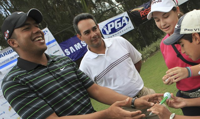 PGA Tour rookie Jhonattan Vegas of Venezuela is a graduate of the Nationwide Tour.