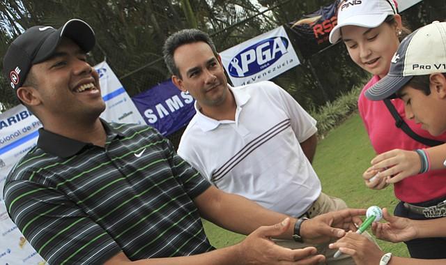 PGA Tour rookie Jhonattan Vegas of Venezuela is a graduate of the Nationwide Tour.