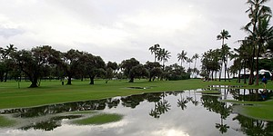 Rookie diary: Rained out at Sony Open