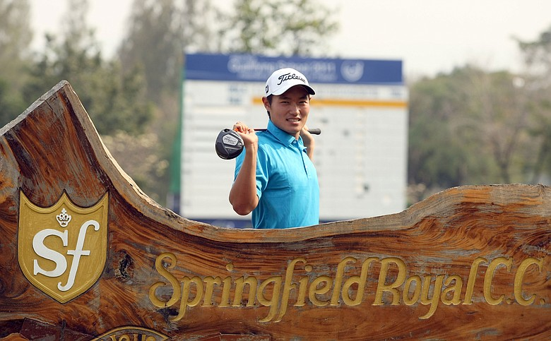Lucas Lee shot 10 under to set a new course record at Springfield Royal Country Club in Thailand.