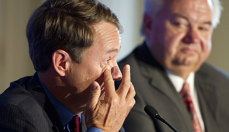 Davis Love III broke into tears as he accepted the 2012 Ryder Cup captaincy.