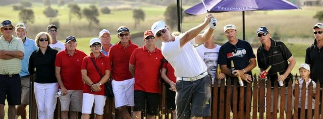 Low seed Scott Laycock outpaced 31 other players in match play Jan. 23 to win the Surf Coast Knockout.