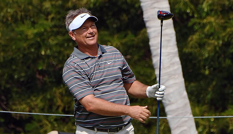 John Cook during the Mitsubishi Electronic Championship.