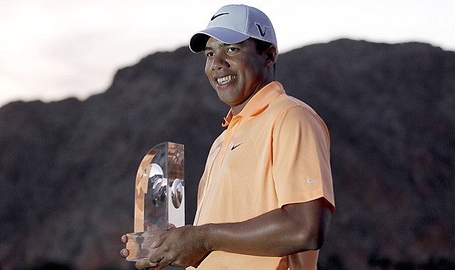 Jhonattan Vegas' victory at the 2011 Bob Hope Classic makes him the first Venezuelan to win on the PGA Tour. He is a 2010 Nationwide Tour graduate.