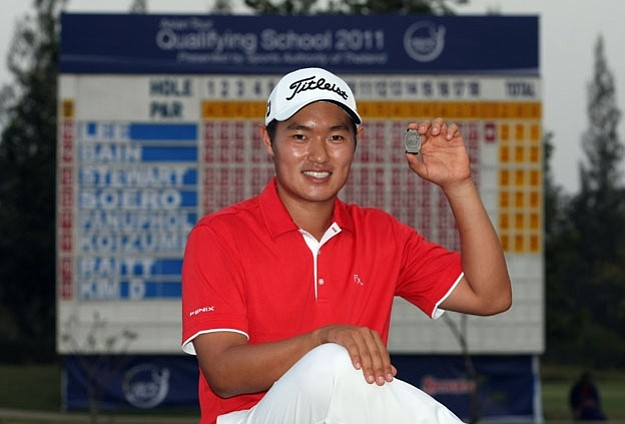 Lucas Lee of Brazil is back on the Asian Tour in 2011 after taking medalist honors at Qualifying School.