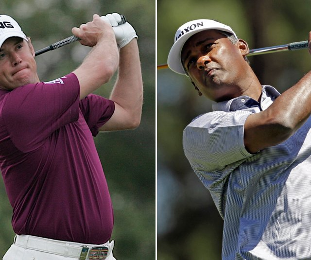 Lee Westwood and Vijay Singh