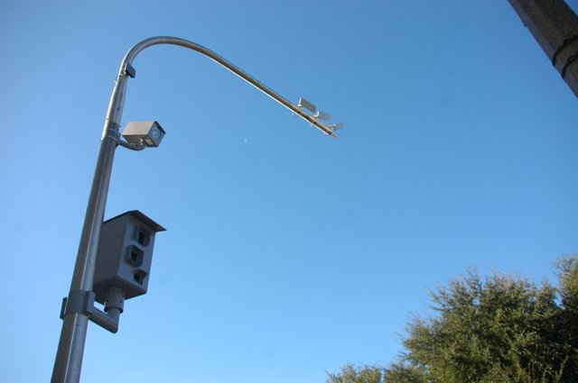 Winter Park installed its first working red-light cameras last weekend.