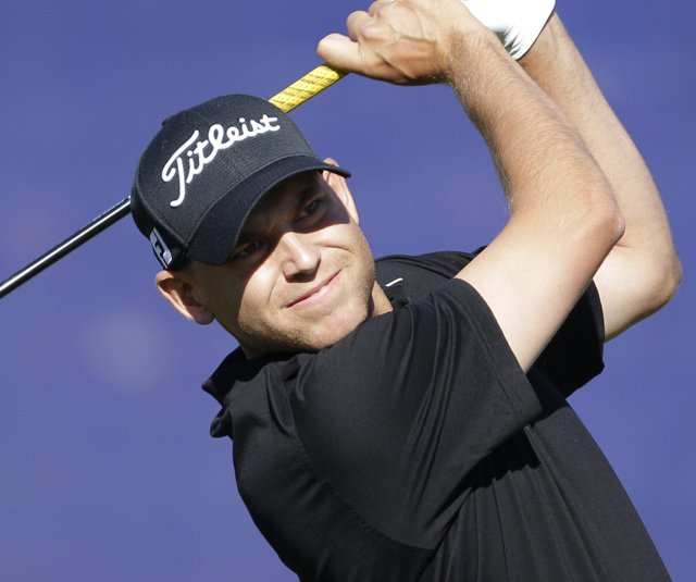 Bill Haas during Round 2 of the Farmers Insurance Open.