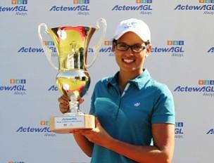 Ashley Ona, 19, won the Royal Canberra Ladies Classic.