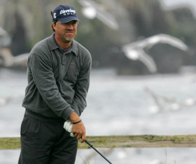 Andrew Magee during the the 2005 AT&amp;T Pebble Beach Pro-Am.