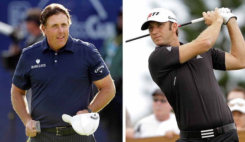 Phil Mickelson and Dustin Johnson figure to contend this week at the Waste Management Phoenix Open.
