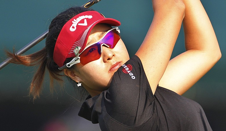 Jennifer Song during the 2010 U.S. Women's Open.