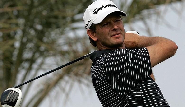 Retief Goosen during the Abu Dhabi Championship.