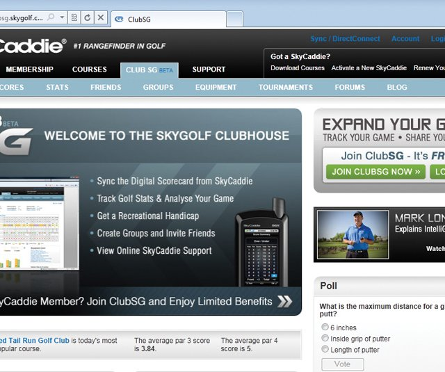 SkyGolf has turned a member benefit into a growing online community that soon will offer a menu of golf services. 