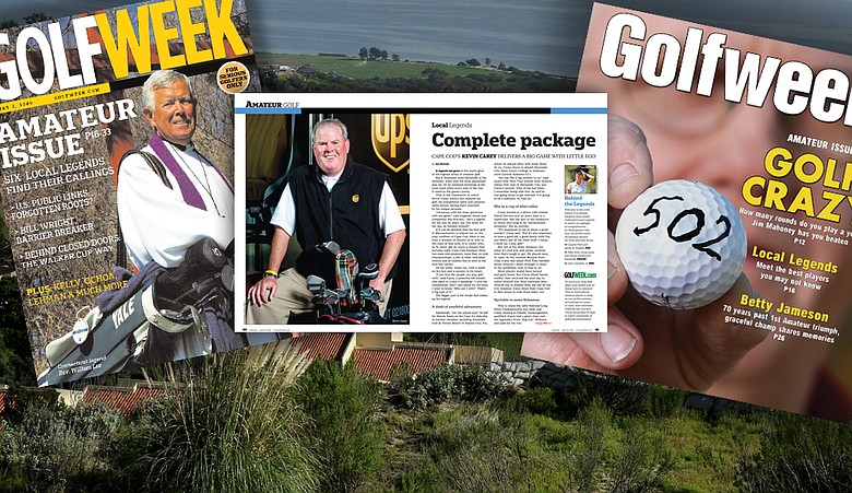 "Several ""Local Legends"" will be featured in Golfweek's annual Amateur Issue in April."