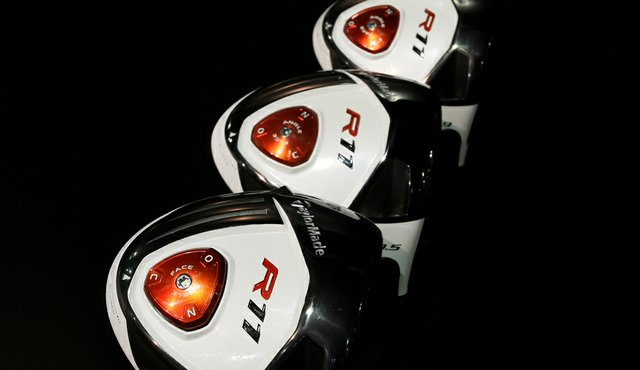 TaylorMade R11: Yes, it's white on top, but it might be the red disc on bottom that has more significance for players. A twist of that button allows the club's alignment and lie to be adjusted independently of the loft, which can be adjusted at the hosel. The club also has weights that can be adjusted to make it three ways to change the clubhead. TaylorMade also has a new Burner SuperFast 2.0 driver.