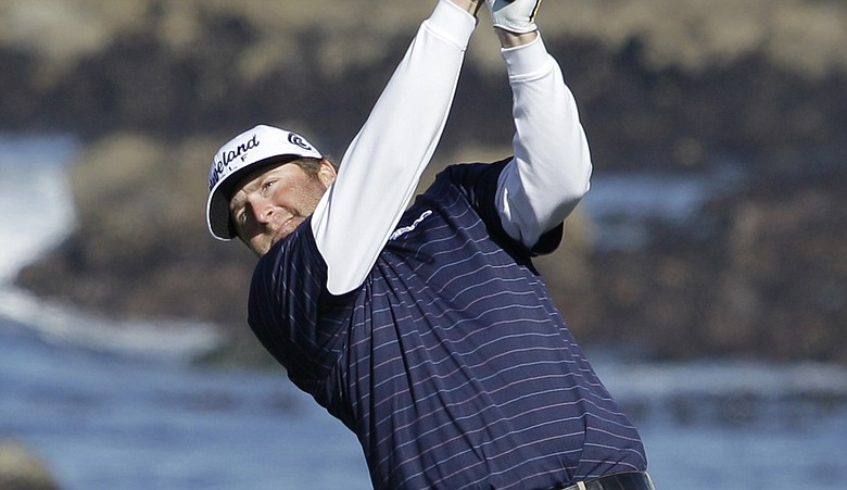 Steve Marino during Round 3 of the Pebble Beach National Pro-Am.