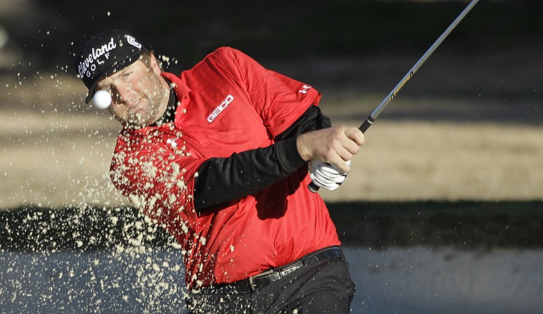 Steve Marino holds a one-shot lead heading into the final round of the AT&T National Pro-Am.