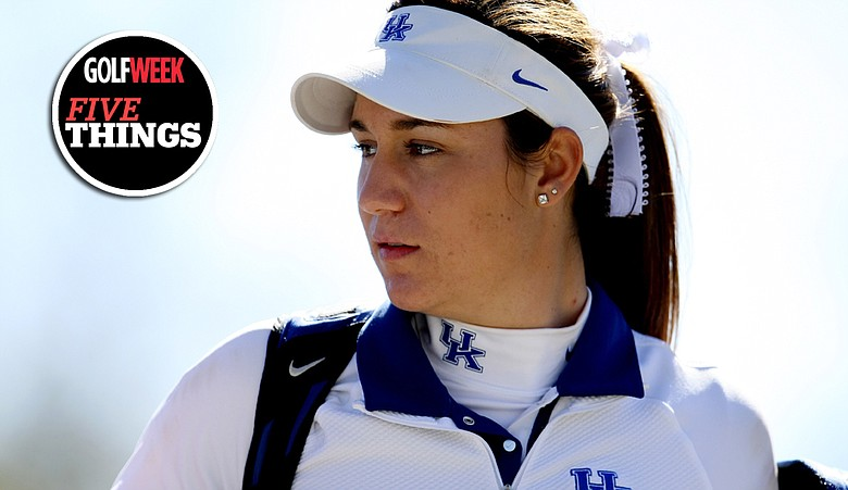 Ashleigh Albrecht of Kentucky during the second round of the UCF Challenge at Red Tail Golf Club.