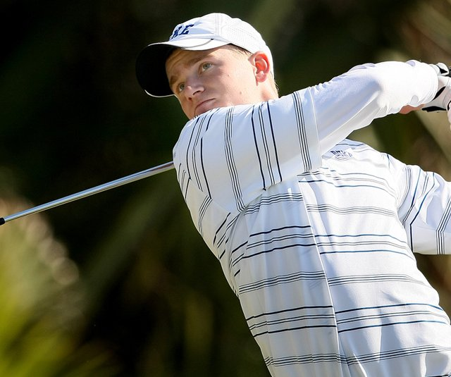Former Duke golfer Adam Long during the 2009 John Hayt Intercollegiate.
