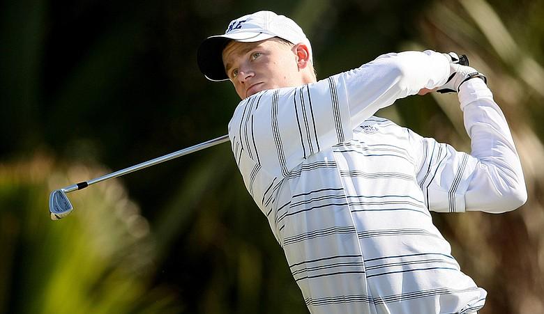 Former Duke golfer Adam Long during the 2009 John Hayt Intercollegiate.