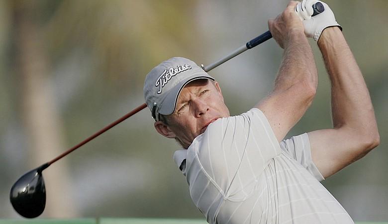 James Kingston during the 2011 Dubai Desert Classic.