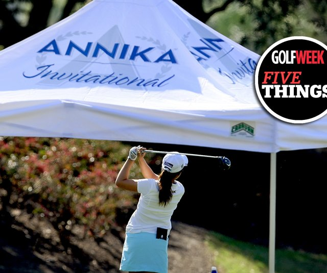 Thirteen countries including the U.S. are represented at the 2011 Annika Invitational at Reunion Resort.