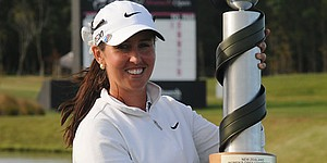 Australia's Kristie Smith wins NZ Women's Open