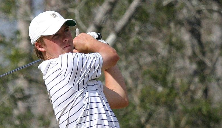 Jordan Spieth during the second round of the HP Boys Championship.