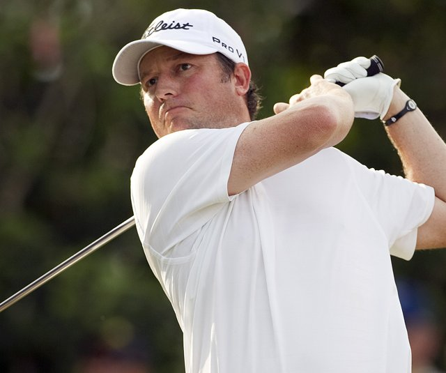 Tim Clark during the 2011 Sony Open. 