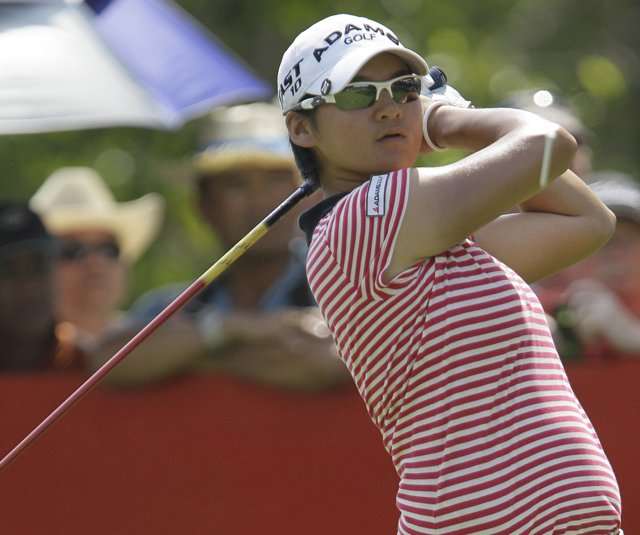 Yani Tseng during the 2011 LPGA Thailand.