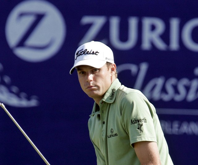 Nick Watney during the 2008 Zurich Classic.